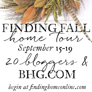 Fall Blogger Home Tour - Fall Decorating Ideas