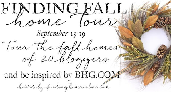 Fall Blogger Home Tours - Simple Fall Decorating Ideas
