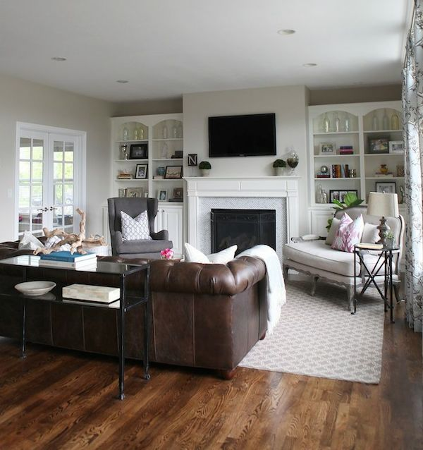 Barn Wood Inspired Living Room