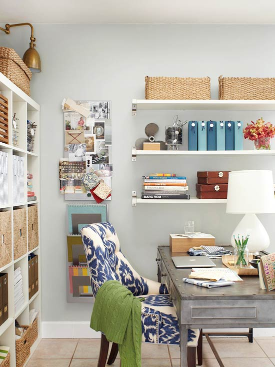 Organizing with Baskets and Containers