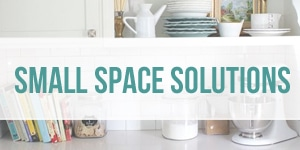 Small Space Decorating and Organizing Solutions - The Inspired Room