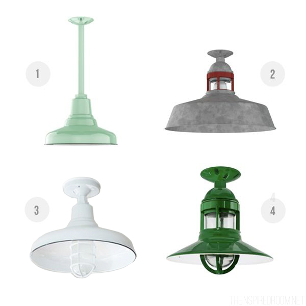 Barnlight Electric Light Flushmount Fixtures - The Inspired Room Lighting Sources
