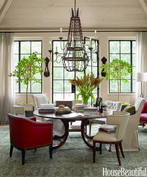 Beautiful Home Living Rooms: Why I Like This Room: A Stylish & Practical Dining Room