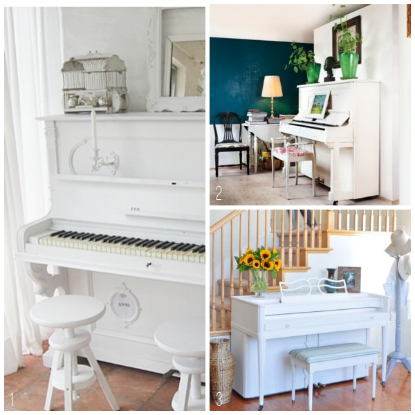 10 Awesome Music Inspired Home Decor Ideas: {Inspired By} Pianos In The Home