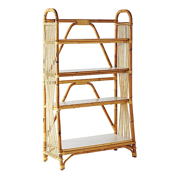 Rattan Bookshelf - Serena and Lily