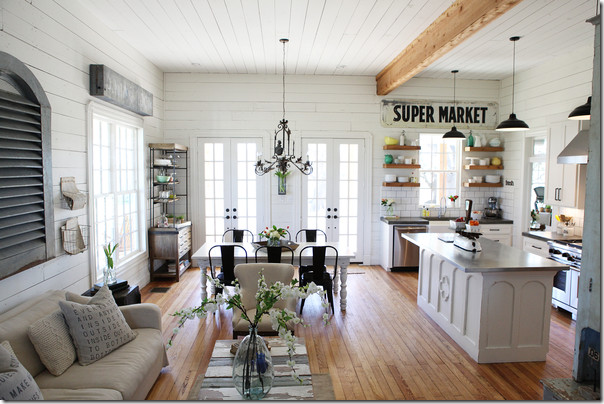 Architectural Details: Shiplap Paneling - The Inspired Room