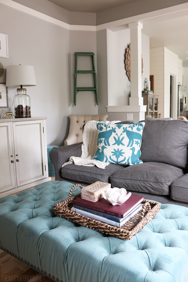 The Inspired Room - Family Room Decorating