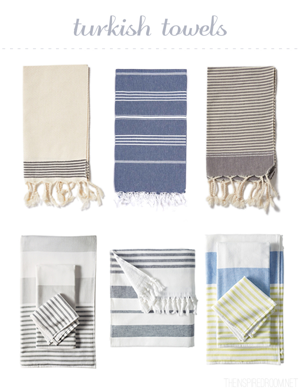 Turkish Towels - The Inspired Room