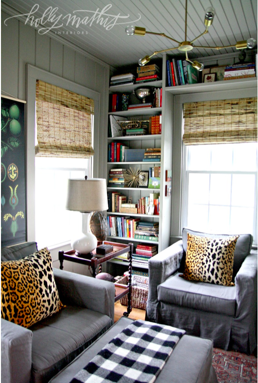 Inspired Rooms Holly Mathis Cozy Study Makeover The
