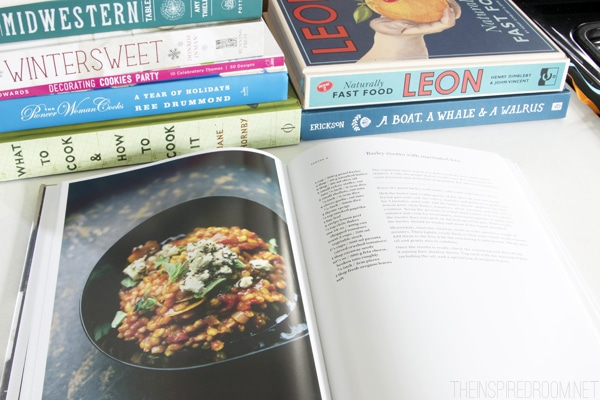 Fall and Winter Cookbooks - The Inspired Room