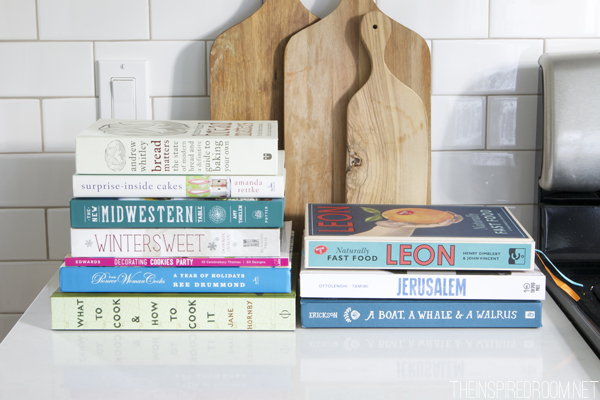 Fall and winter cookbooks