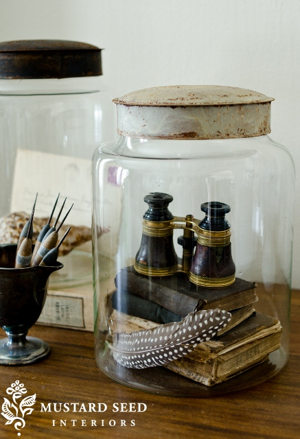 Glass Jar Displays