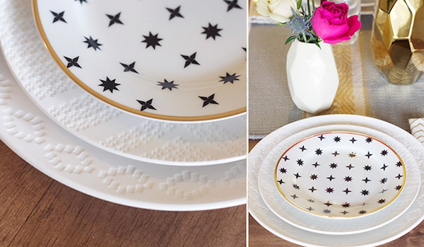 Layering Plates for Entertaining - Styling Tips