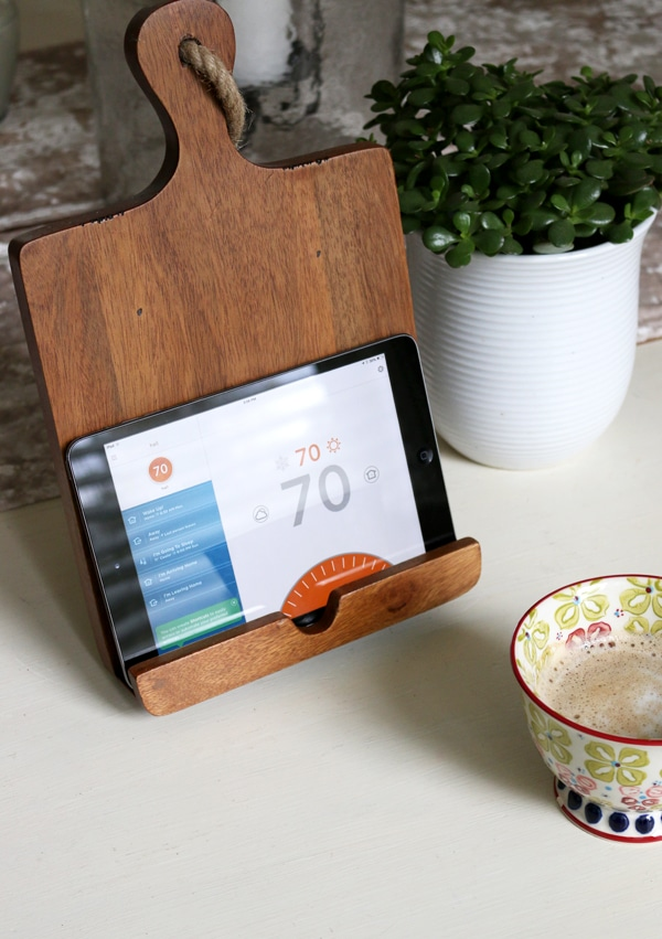 Fine Tuning our Home {a new thermostat}