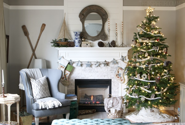 Christmas House Tour - The Inspired Room - Forest and Sea Christmas
