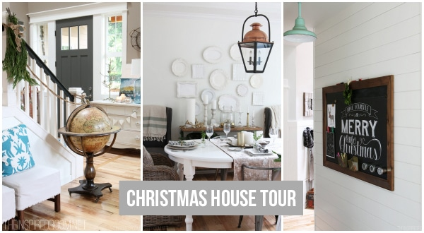 Christmas House Tour - The Inspired Room copy