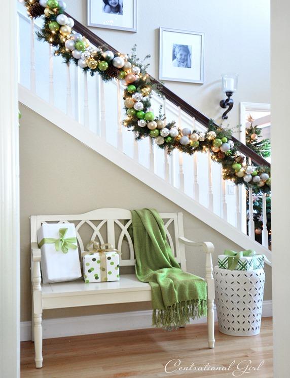 Inspired Christmas {Stairways}