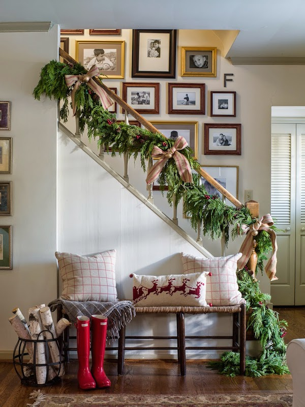 inspired christmas stairways