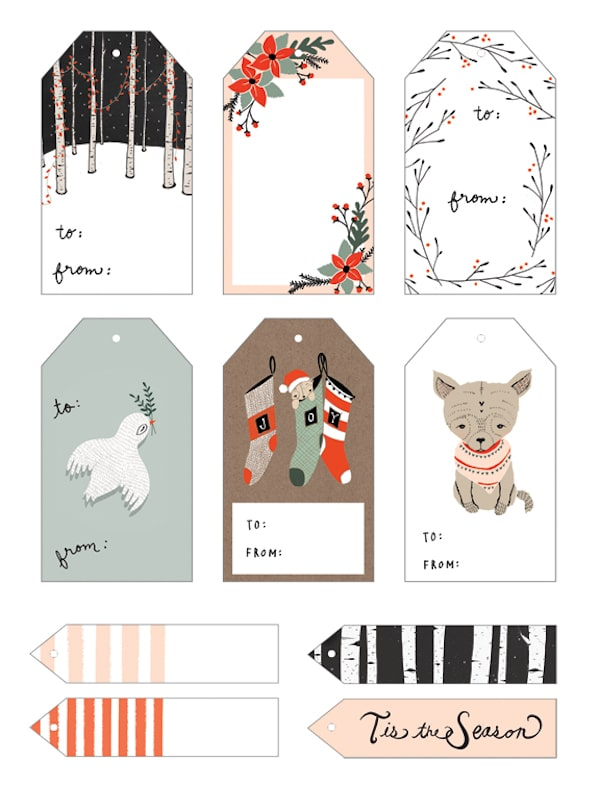 Free Printable Gift Tags The Inspired Room