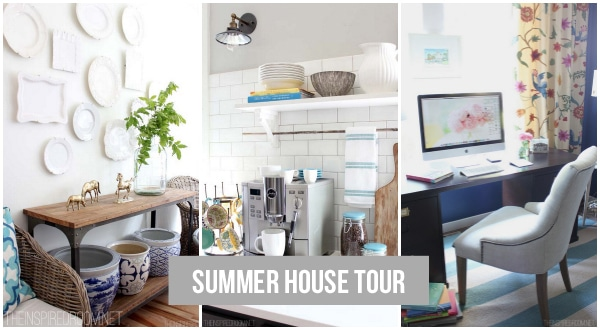 DIY Decorating {My House Tour}