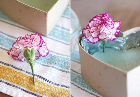 Как своими руками сделать цветы в коробке своими руками живые