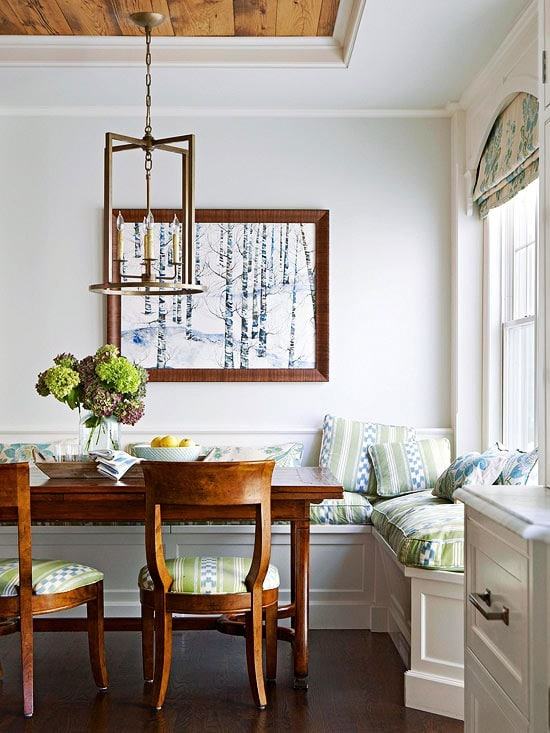 Dining Banquette and Breakfast Nook Ideas
