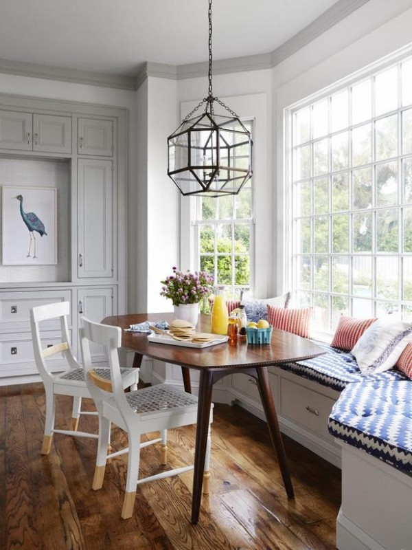 Dining Window Banquette - Breakfast Nook
