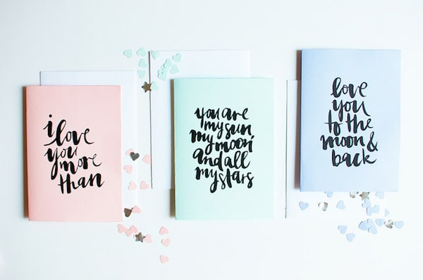 Free Printable Valentines Day Cards - A Pair and a Spare