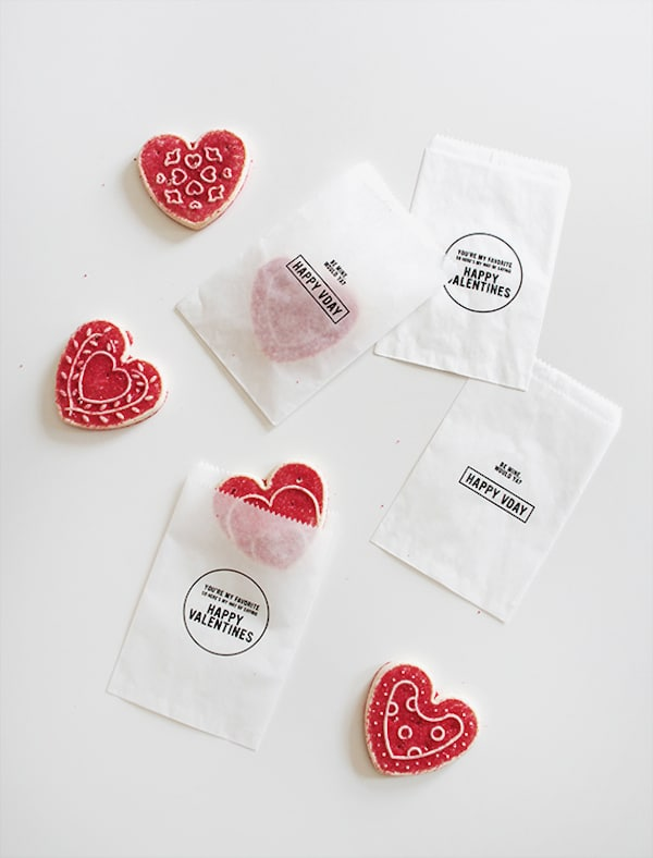 Free Printable Valentines Day Treat Bags - Almost Makes Perfect