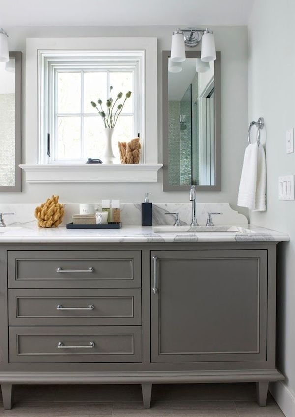 Wonderful Gray Bathroom Vanities On Pinterest