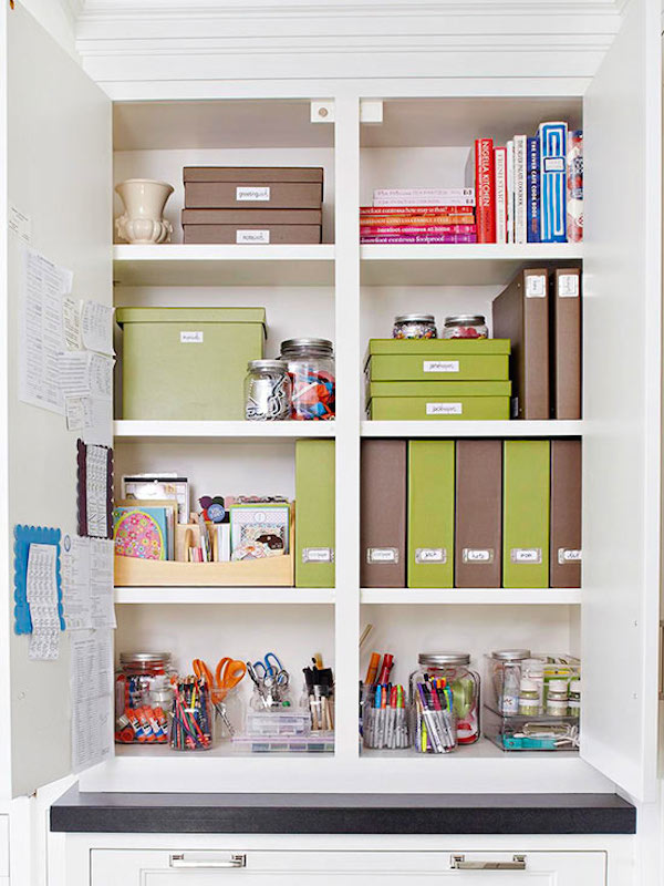 Kick Excuses to the Curb {Confessions on Decluttering & Organizing}
