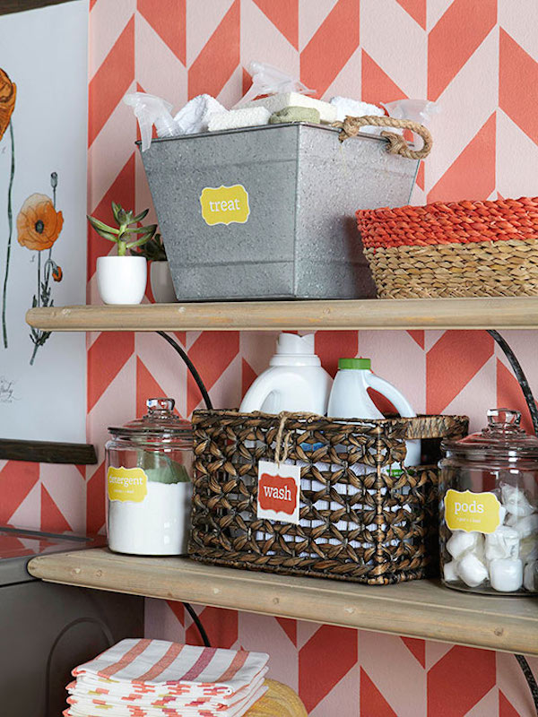 Organized Laundry Storage - Inspiration