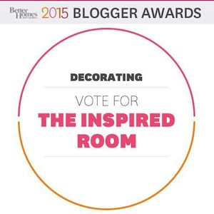 Best Decorating Blogs - Better Homes and Gardens Blogger Awards - The Inspired Room