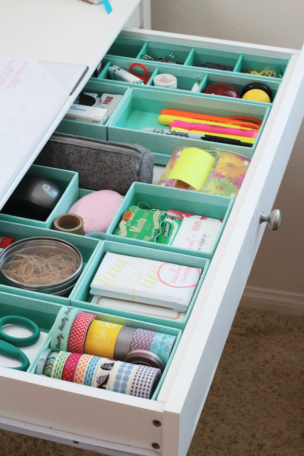 Let's Get Organized {Happy Drawers}