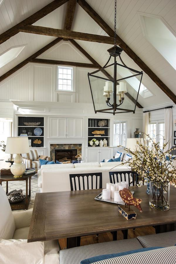 HGTV Dream Home 2015 - Dining Room View Into Great Room