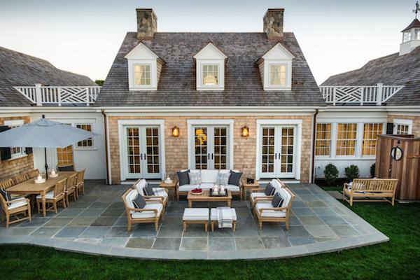 HGTV Dream Home 2015 - Exterior Design - Patio with French Doors