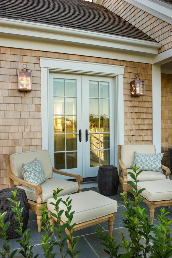HGTV Dream Home 2015 - Master Bedroom Patio with French Doors