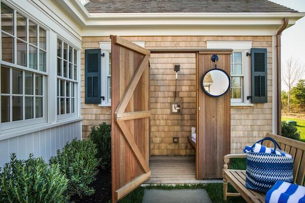 HGTV Dream Home 2015 - Outdoor Shower - Shingles