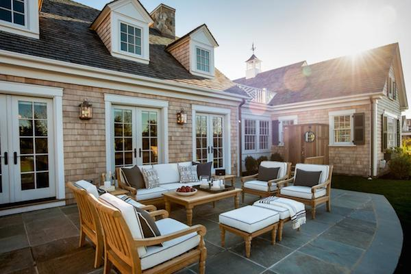 HGTV Dream Home 2015 - Patio with Outdoor Lounge Furniture