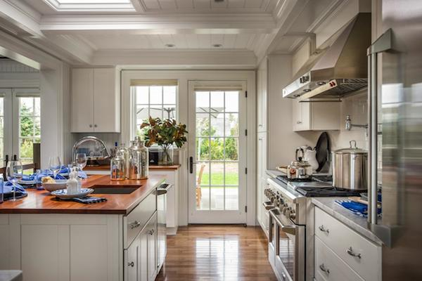 HGTV Dream Home 2015 - White Kitchen French Doors