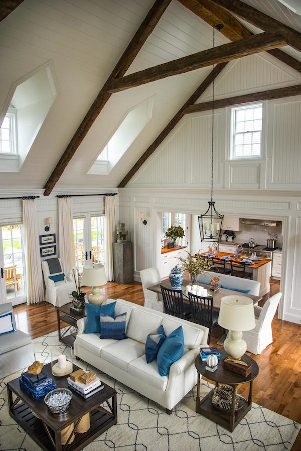 HGTV Dream Home 2015 - Wood Beams on Ceiling