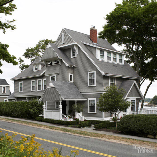 Gray Shingled House Tour