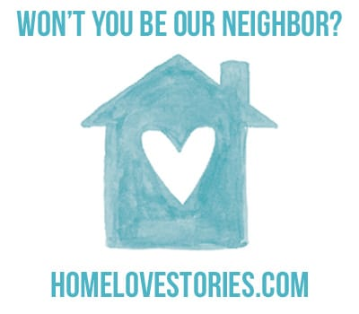 Please, Won't You Be My Neighbor? {Announcement!}