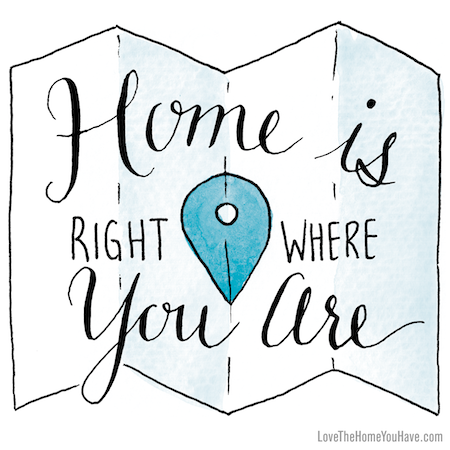 Inspiring Quotes from the book Love the Home You Have – The Inspired Room – lovethehomeyouhave.com #lovethehomeyouhave