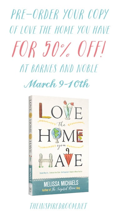 Love the Home You Have Book 50% Off Discount