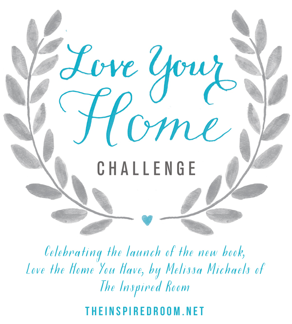 Love Your Home Challenge {& Book Release Day!}