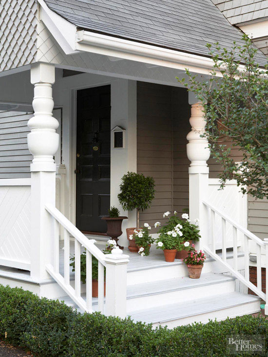 Shingled House Tour Front Porch