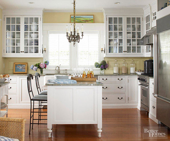 Shingled House Tour Kitchen