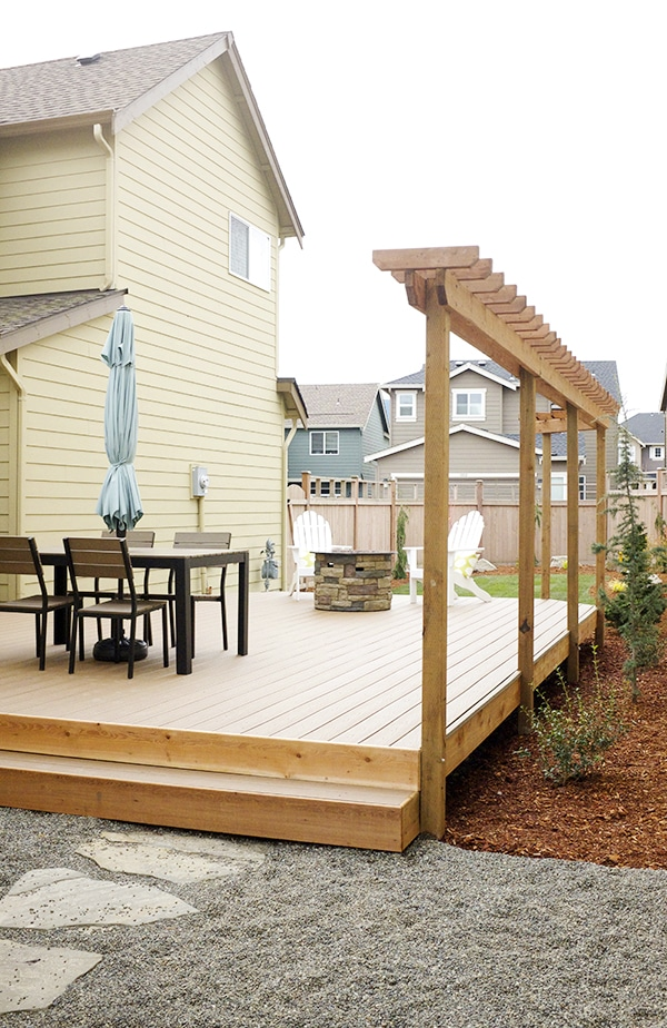 A Small Backyard Renovation and Deck Addition - The ... on Small Backyard Renovations id=38384