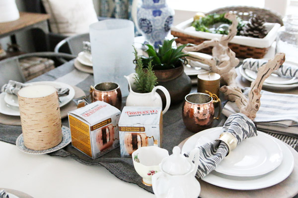The Inspired Room - Messy Dining Table